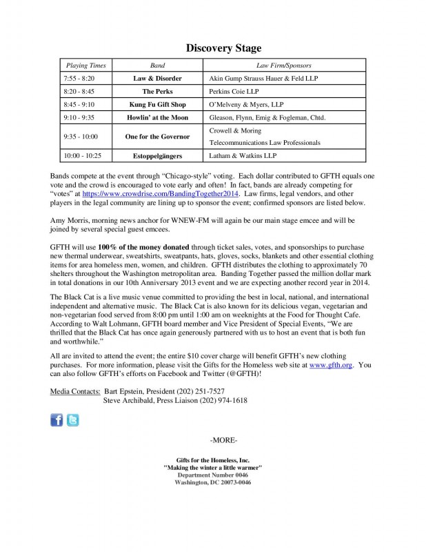 Banding Together Press Release (2014) rev 6-11-2014-2