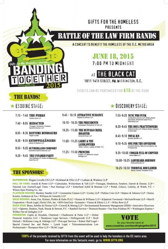 banding scheule poster